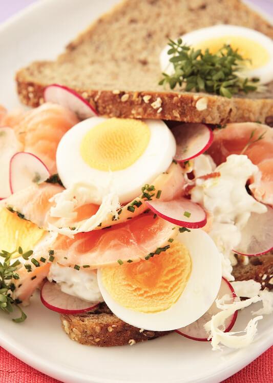 Vollkorn-Sandwich