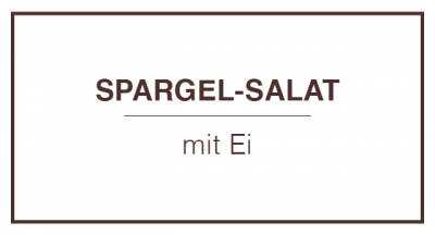 Spargel-Salat mit Ei